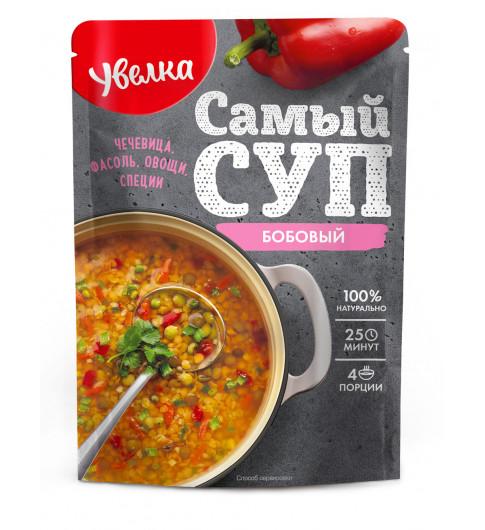 Увелка Самый Суп Бобовый, 150 гр  25 минут