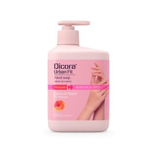 DICORA URBAN FIT Жидкое мыло Vitamin C цитрус и персик, 500 мл