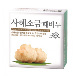 MUKUNGHWA  КОРЕЯ Скраб-мыло для тела и лица СОЛЬ МЕРТВОГО МОРЯ Dead sea mineral salts body soap, 100гр