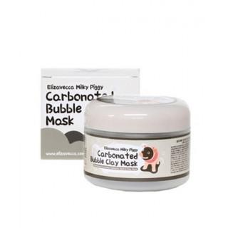 Elizavecca Маска для лица ОЧИЩАЮЩАЯ/ПУЗЫРЬКОВАЯ Сarbonate Bubble Clay Mask, 100 мл