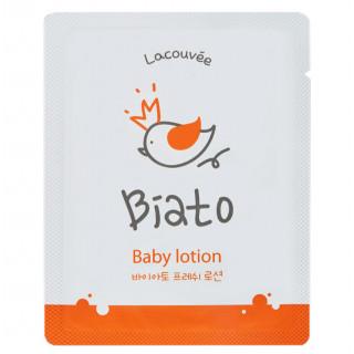 Lacouvee Детский лосьон для тела Biato Baby Lotion, 3 мл  Увлажняет нежную детскую кожу