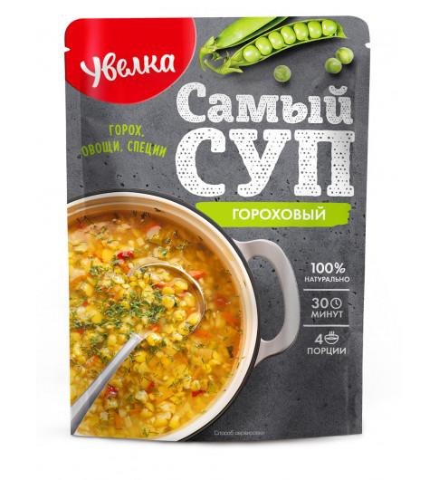 Увелка Самый Суп Гороховый, 150 гр  30 минут