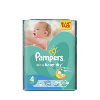 Pampers Подгузник Active Baby Maxi р.4 (9-14 кг) 70 шт Памперс