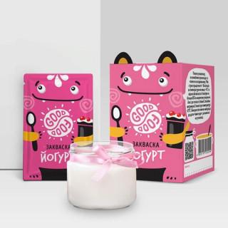 GOOD FOOD Закваска Йогурт 1 пакетик: на 1-3 литра молока