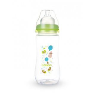 Baboo  Бутылочка для кормления с силиконовой соской 3 мес+, 330 мл Baby Shower