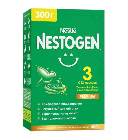 Nestogen 3 Детское молочко, 12мес+, 300 гр (Нестожен) срок отличный, для комфортного пищеварения