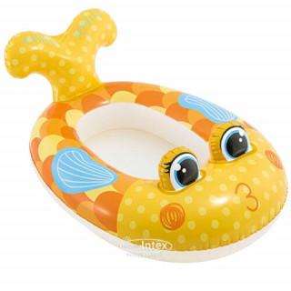 Intex Матрас надувной Лодка детская Рыбка 117 см * 76 см