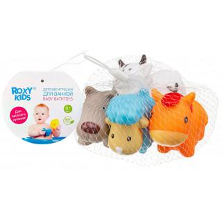 """Roxy-Kids Набор игрушек для ванной """"Моя ферма"""" 4 шт"""