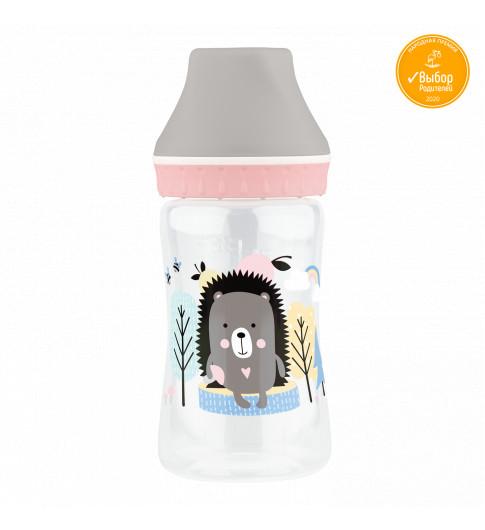 Lubby Бутылочка с силиконовой соской 250 мл. от 0 месяцев - медленный поток
