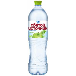 Святой Источник Вода питьевая с соком ЯБЛОКА 1.5 л - негазированная