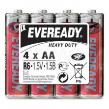 Батарейка EVEREADY Super Heavy Duty ААR6, 4 шт.