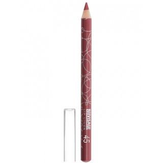 LUXVISAGE Карандаш для губ Стойкий тон 45 натуральный розовый