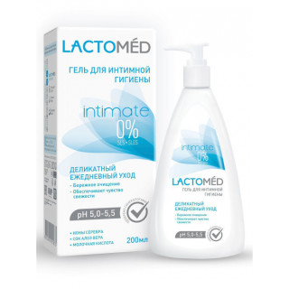LACTOMED Гель для интимной гигиены деликатный ежедневный уход, 200 мл