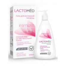 LACTOMED Гель для интимной гигиены  нежный уход за чувствительной кожей, 200 мл,