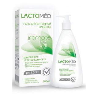 LACTOMED Гель для интимной гигиены  длительное чувство комфорта, 200 мл,