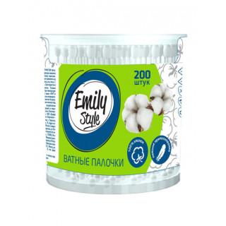 Emily Style  Ватные палочки банка 200шт