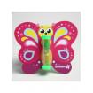 """Крошка Я Песочные часы для чистки зубов на присоске """"Бабочка"""", 3 минуты, цвет разноцветный"""