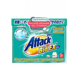 KAO Attack  Стиральный порошок  0,9кг ЯПОНИЯ. Для стирки белого, цветного, темного и черного белья