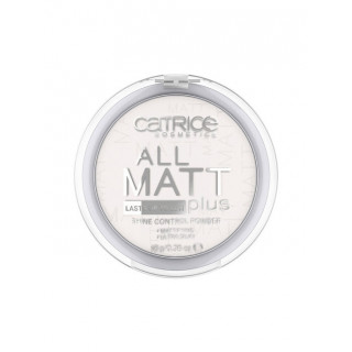 CATRICE  прозрачный  Пудра Компактная All Matt Plus Shine Control Powder 001