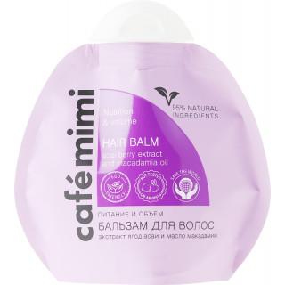 Cafemimi Бальзам для волос Питание и Обьем 100 мл