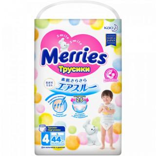 Merries подгузники-трусики, L (9-14 кг), 44 шт Мерриес