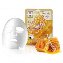 3W Clinic Тканевая маска с маточным молочком, 23 мл, 1 шт - КОРЕЯ (cухой и уставшей кожей)