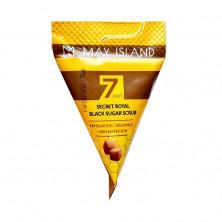 7Days Скраб Пилинг для Лица с коричневым сахаром и медом, 1 шт - КОРЕЯ