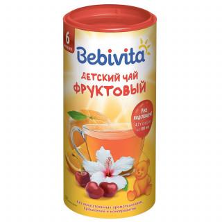Bebivita Чай гранулированный Фруктовый 200г с 6месяцев