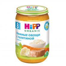 Hipp Пюре мясное Нежные овощи с телятиной, 8мес+, 220гр Хипп
